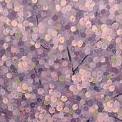 """Картины и панно ручной работы. Ярмарка Мастеров - ручная работа Картина """"Весна в саду"""". Handmade."""