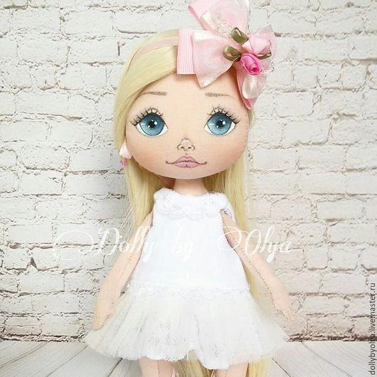 Коллекционные куклы ручной работы. Ярмарка Мастеров - ручная работа. Купить Кукла текстильная интерьерная коллекционная игровая. Handmade.