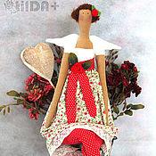 Куклы и игрушки ручной работы. Ярмарка Мастеров - ручная работа Мариша - цветочная фея. Handmade.