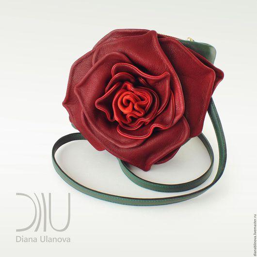 Женские сумки ручной работы. Ярмарка Мастеров - ручная работа. Купить мини роза2. Handmade. Комбинированный, необычная сумка
