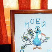 Картины и панно ручной работы. Ярмарка Мастеров - ручная работа Моей птичке. Handmade.