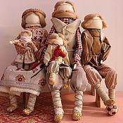 """Куклы и игрушки ручной работы. Ярмарка Мастеров - ручная работа """"Русское семейство"""" Авторские куклы-образы.. Handmade."""