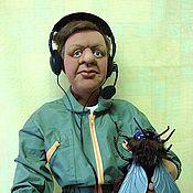 """Куклы и игрушки ручной работы. Ярмарка Мастеров - ручная работа """"Мама, а я лётчика люблю!"""". Handmade."""