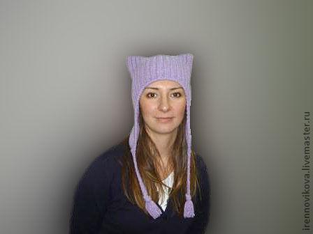"""Шапки ручной работы. Ярмарка Мастеров - ручная работа. Купить Шапочка """"КОТЭ"""". Handmade. Шапка, шапка зимняя, подарок женщине"""