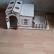 Кукольные домики ручной работы. Ярмарка Мастеров - ручная работа Игрушечная конюшня. Handmade.