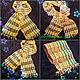 """Шарфы и шарфики ручной работы. Ярмарка Мастеров - ручная работа. Купить летний шарф """"КРАСКИ ЛЕТА """". Handmade. Желтый"""
