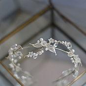 Украшения handmade. Livemaster - original item The tender twig in the bride`s hairstyle. Handmade.