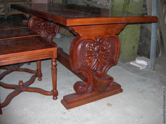 комплект деревянной мебели стол из дерева деревянный стул из массива дуб ясень
