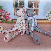Куклы и игрушки ручной работы. Ярмарка Мастеров - ручная работа Мишка тильда из хлопка. Handmade.