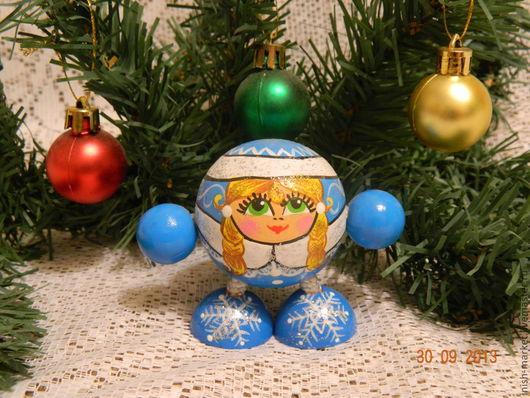 Отличная игрушка в Новогодний подарок. Возможно массовое изготовление.