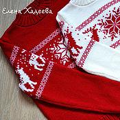 "Одежда ручной работы. Ярмарка Мастеров - ручная работа FAMILY LOOK -"" Merry Christmas"". Handmade."