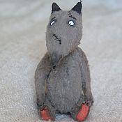 Куклы и игрушки ручной работы. Ярмарка Мастеров - ручная работа Волк или собачка?. Handmade.