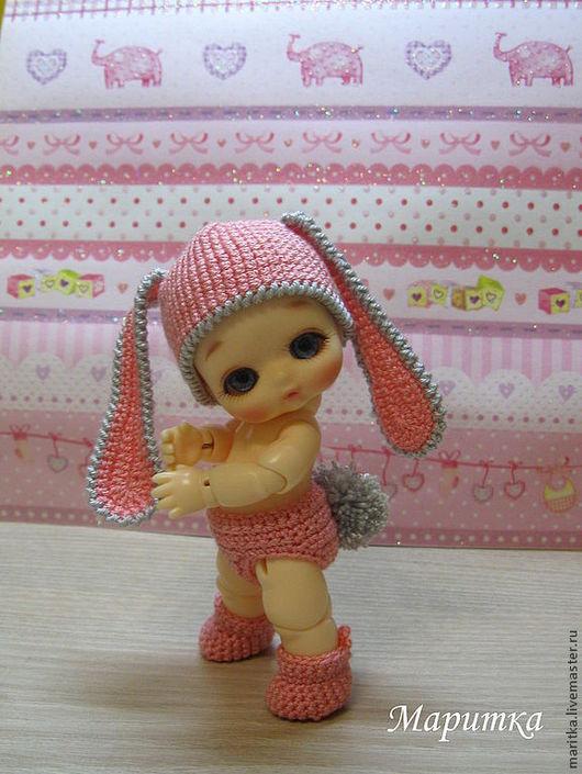 """Одежда для кукол ручной работы. Ярмарка Мастеров - ручная работа. Купить Костюм """"Зайка моя"""" для куклы БЖД. Handmade. Зайка"""