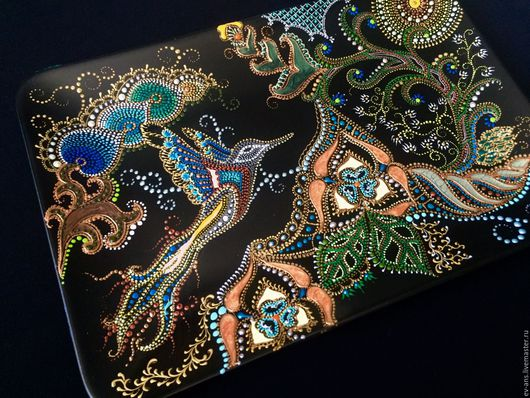 Декоративная посуда ручной работы. Ярмарка Мастеров - ручная работа. Купить Панно керамическое Райская птица. Handmade. Восточный стиль