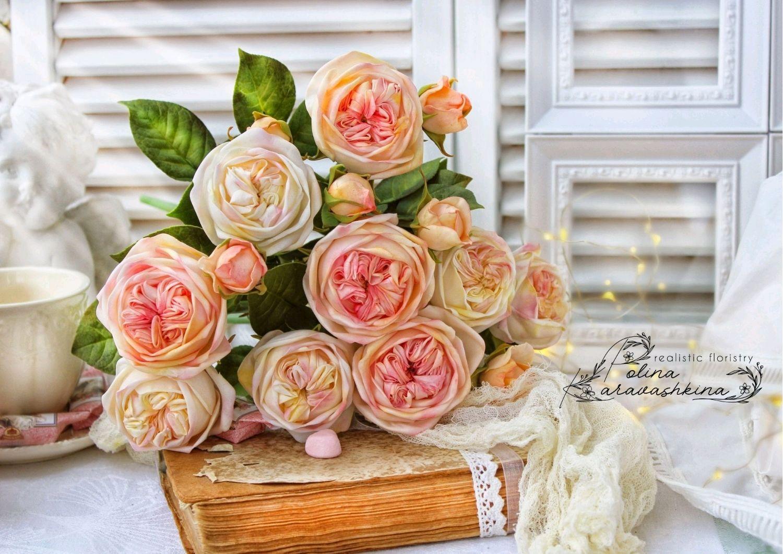 Букет пионовидных роз, Букеты, Шахты,  Фото №1