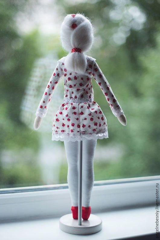 Куклы Тильды ручной работы. Ярмарка Мастеров - ручная работа. Купить Выпускница. Handmade. Белый, кукла текстильная, хлопок американский