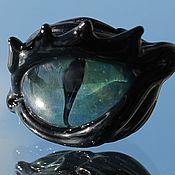 """Материалы для творчества ручной работы. Ярмарка Мастеров - ручная работа Бусина  лэмпворк """"Глаз 3"""". Handmade."""