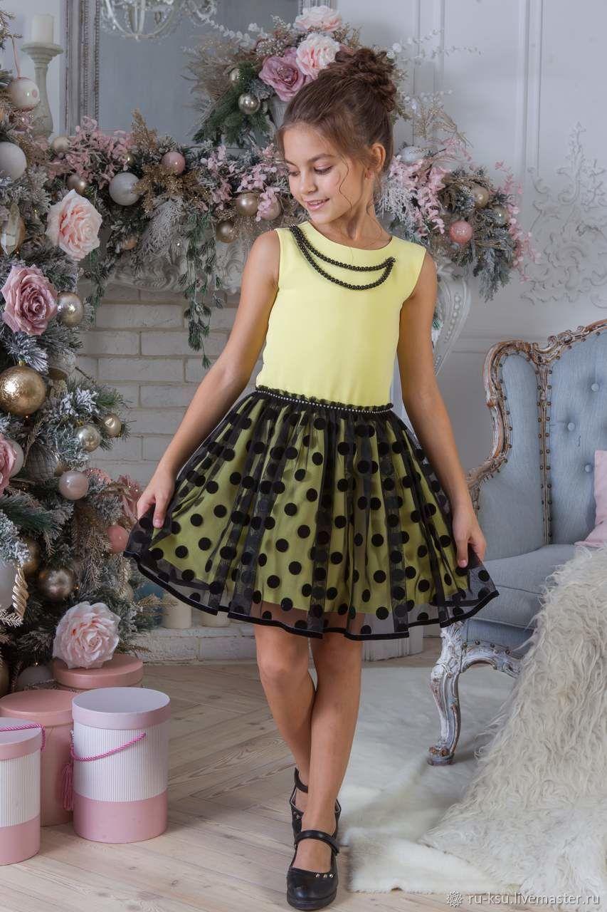 4e7bce2dccce826 Одежда для девочек, ручной работы. Ярмарка Мастеров - ручная работа. Купить  Детские платья ...