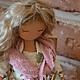 """Коллекционные куклы ручной работы. """"Пусть мечты сбываются """". Подсолнухи (Екатерина Рябова). Ярмарка Мастеров. Подарок"""