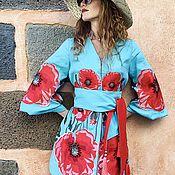 "Одежда handmade. Livemaster - original item Short dress ""Poppy Desire"". Handmade."