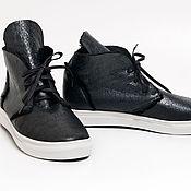 Обувь ручной работы. Ярмарка Мастеров - ручная работа Кеды меховые Trend. Handmade.
