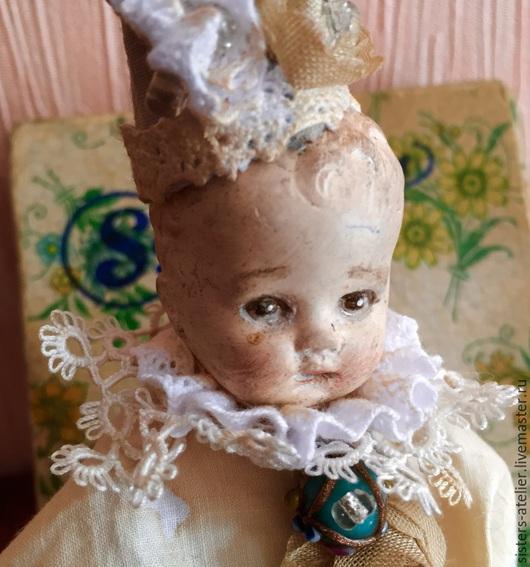 Коллекционные куклы ручной работы. Ярмарка Мастеров - ручная работа. Купить Павлик. Антикварный малыш.. Handmade. Разноцветный, винтаж