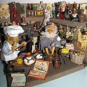 Куклы и игрушки ручной работы. Ярмарка Мастеров - ручная работа Монжики дома. Handmade.