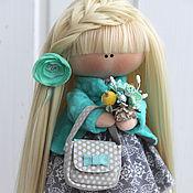 Куклы и игрушки ручной работы. Ярмарка Мастеров - ручная работа Текстильная куколка Ирэн.. Handmade.