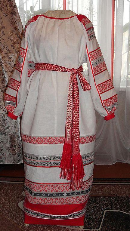 Этническая одежда ручной работы. Ярмарка Мастеров - ручная работа. Купить женская рубаха Покосница. Handmade. Белый
