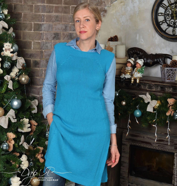 Купить Вязаное Платье Тунику