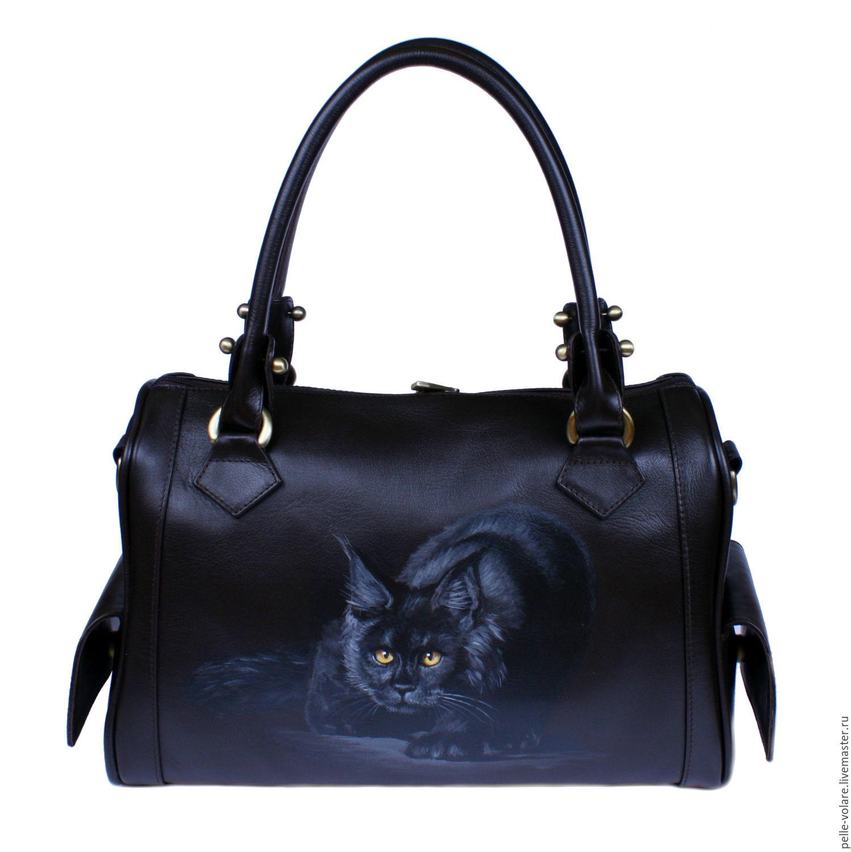 "Средняя сумка ""Ночная тень"", Classic Bag, St. Petersburg,  Фото №1"