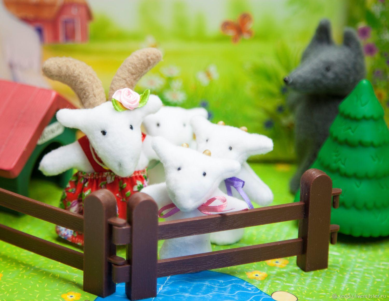 Волк и семеро козлят. Пальчиковый театр, Кукольный театр, Кемь,  Фото №1
