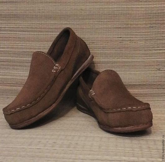 Обувь ручной работы. Ярмарка Мастеров - ручная работа. Купить мокасины женские(распродажа). Handmade. Хаки, авторская ручная работа