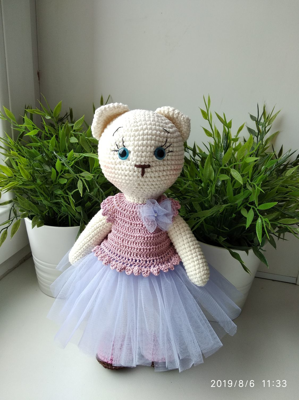 Кошка Мари, Мягкие игрушки, Омск,  Фото №1