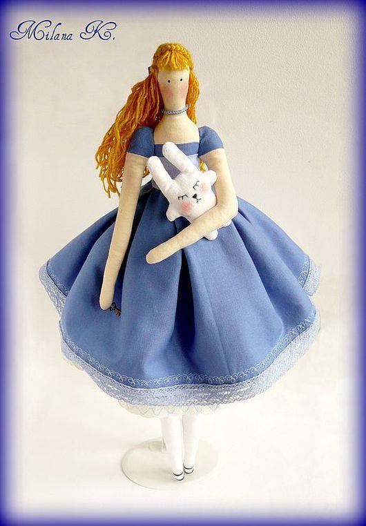 """Куклы Тильды ручной работы. Ярмарка Мастеров - ручная работа. Купить Кукла Тильда """"Алиса"""". Handmade. Тильда, алиса, кружево"""