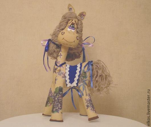 Ароматизированные куклы ручной работы. Ярмарка Мастеров - ручная работа. Купить Лошадка Фиалка. Handmade. Коричневый, ароматизированная игрушка