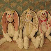 Куклы и игрушки ручной работы. Ярмарка Мастеров - ручная работа Просто зайцы. Просто скоро весна :-). Handmade.