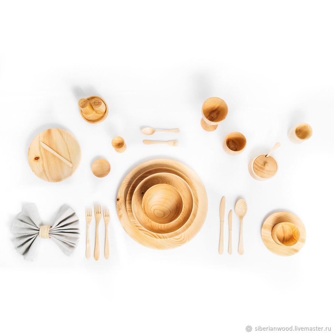 Set of dishes made of wood Siberian Cedar 27#1, Tureens, Novokuznetsk,  Фото №1