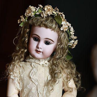 Куклы и игрушки ручной работы. Ярмарка Мастеров - ручная работа Парик натуральный для куклы. Handmade.