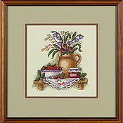 """Картины и панно ручной работы. Ярмарка Мастеров - ручная работа """"Клубничное варенье"""". Handmade."""