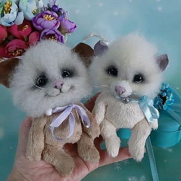 Куклы и игрушки ручной работы. Ярмарка Мастеров - ручная работа Валяная игрушка мышка-малявка.. Handmade.
