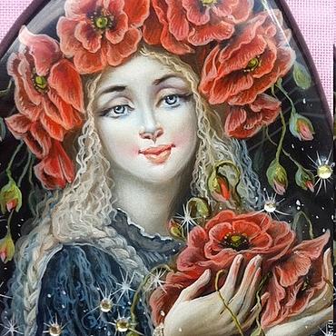 Украшения ручной работы. Ярмарка Мастеров - ручная работа Маков цвет. Handmade.