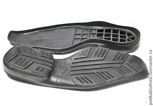 Другие виды рукоделия ручной работы. Ярмарка Мастеров - ручная работа. Купить Подошва для обуви Голф. Handmade. Черный
