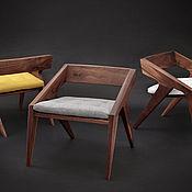 Для дома и интерьера ручной работы. Ярмарка Мастеров - ручная работа Дизайнерский стул из массива. Handmade.
