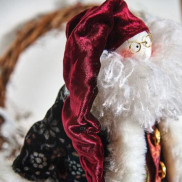 Куклы и игрушки ручной работы. Ярмарка Мастеров - ручная работа Санта Клаус- добрый новогодний волшебник !. Handmade.