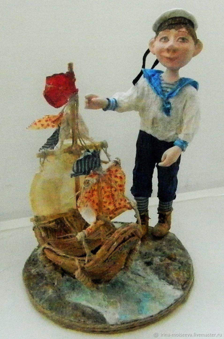 Вася-морячок, Куклы, Чехов, Фото №1