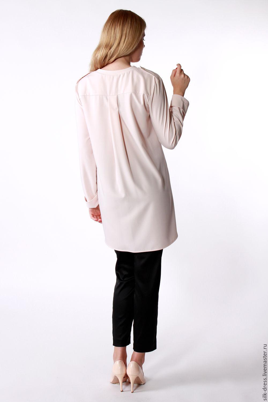 Блузка из крепа доставка