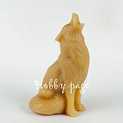 Материалы для творчества handmade. Livemaster - original item Silicone molds for soap the Wolf howling at the moon. Handmade.