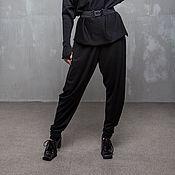 Одежда handmade. Livemaster - original item GGA_018 breeches pockets, complex cut, color black.. Handmade.