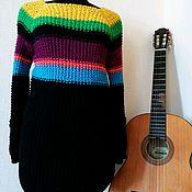 Одежда handmade. Livemaster - original item Boyfriend style sweater. Handmade.